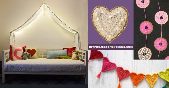 43 Most Awesome DIY Decor Ideas for Teen Girls \u2013 DIY Projects for