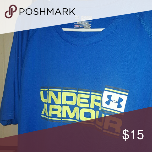 Under armour heat gear 2x dri fit in excellent condition Under Armour Shirts Tees - Short Sleeve