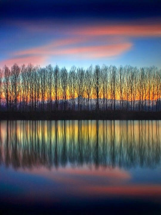 Love the colors and reflection