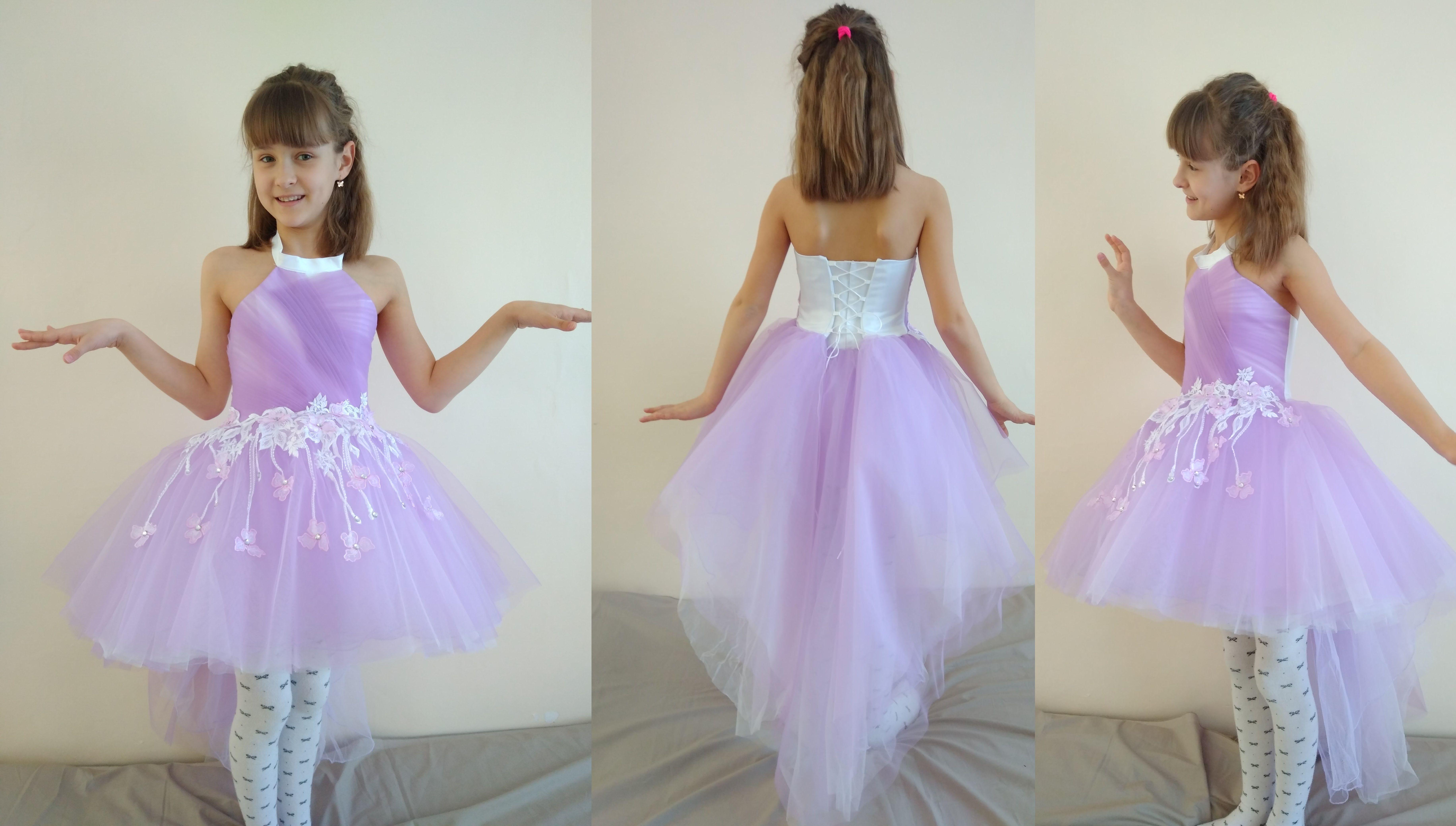 e0d34f240a5 Шикарные детские нарядные платья под заказ. Выпускные платья для школы и  садика. Украина