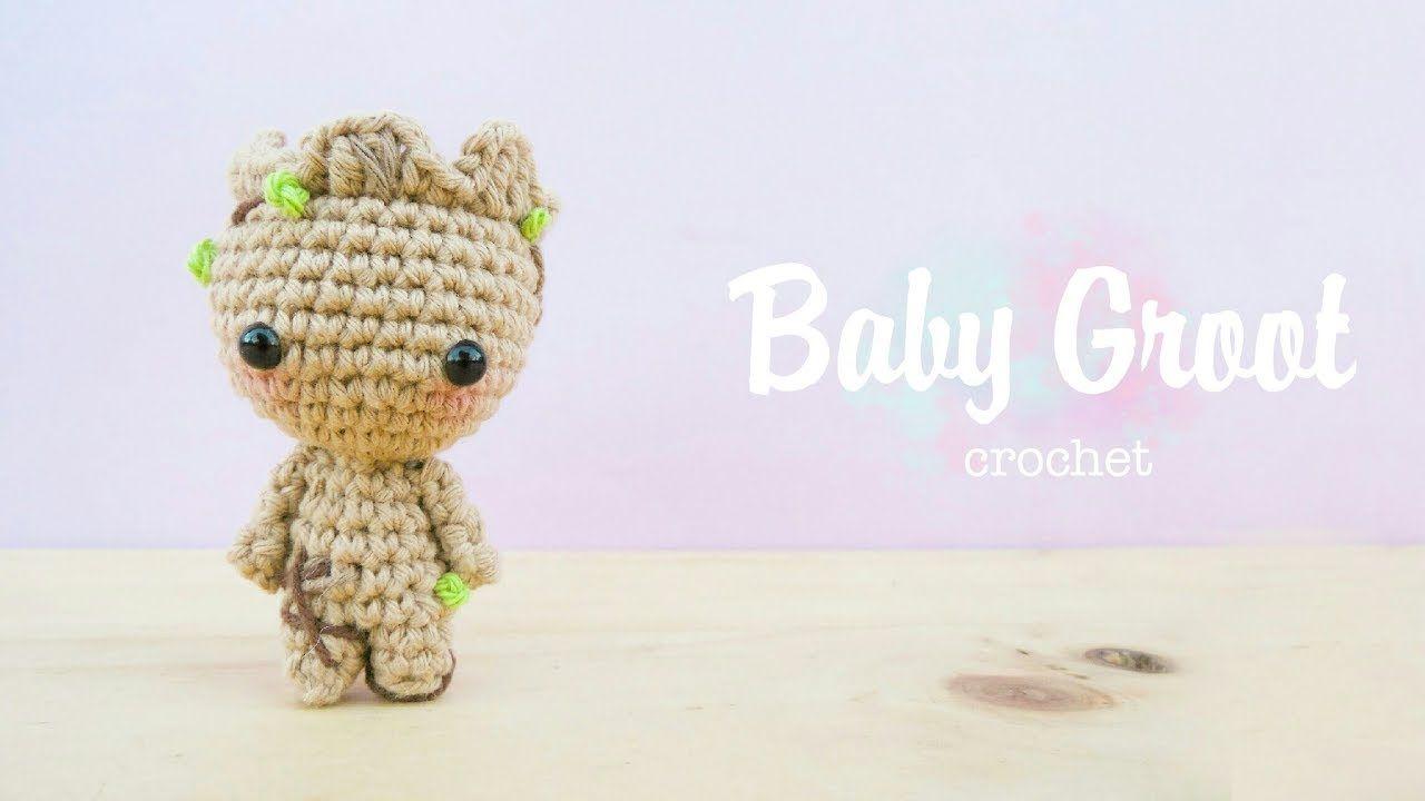 Baby Groot Amigurumi tutorial (DIY)