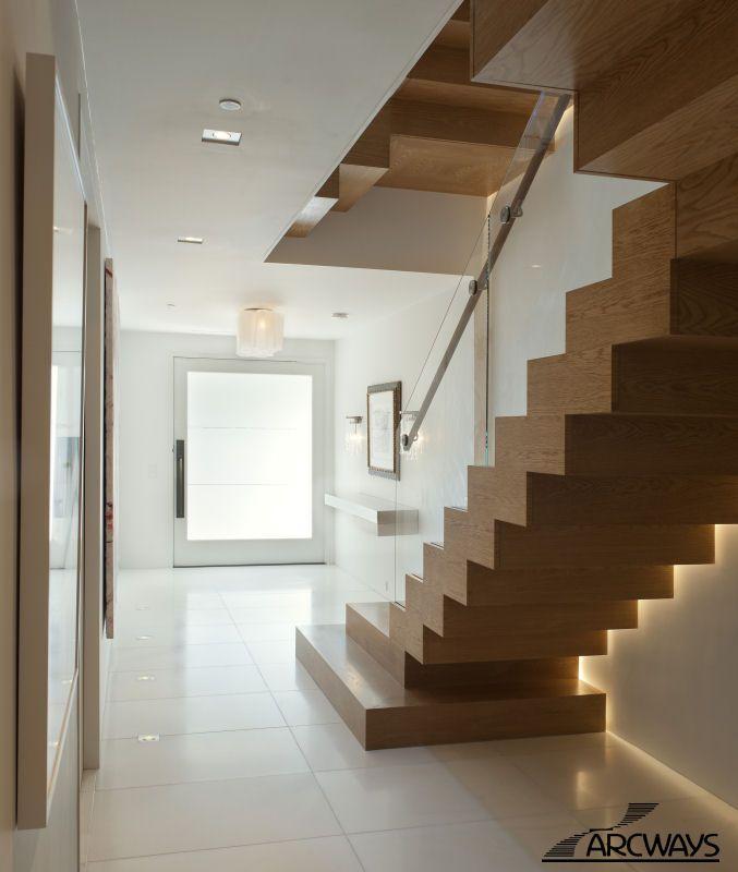 Best Straight Stairs Straight Staircases Custom Straight 400 x 300