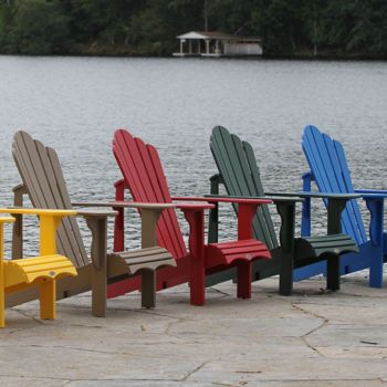 Classic Adirondack Collection Muskoka Chair Backyard Adirondack