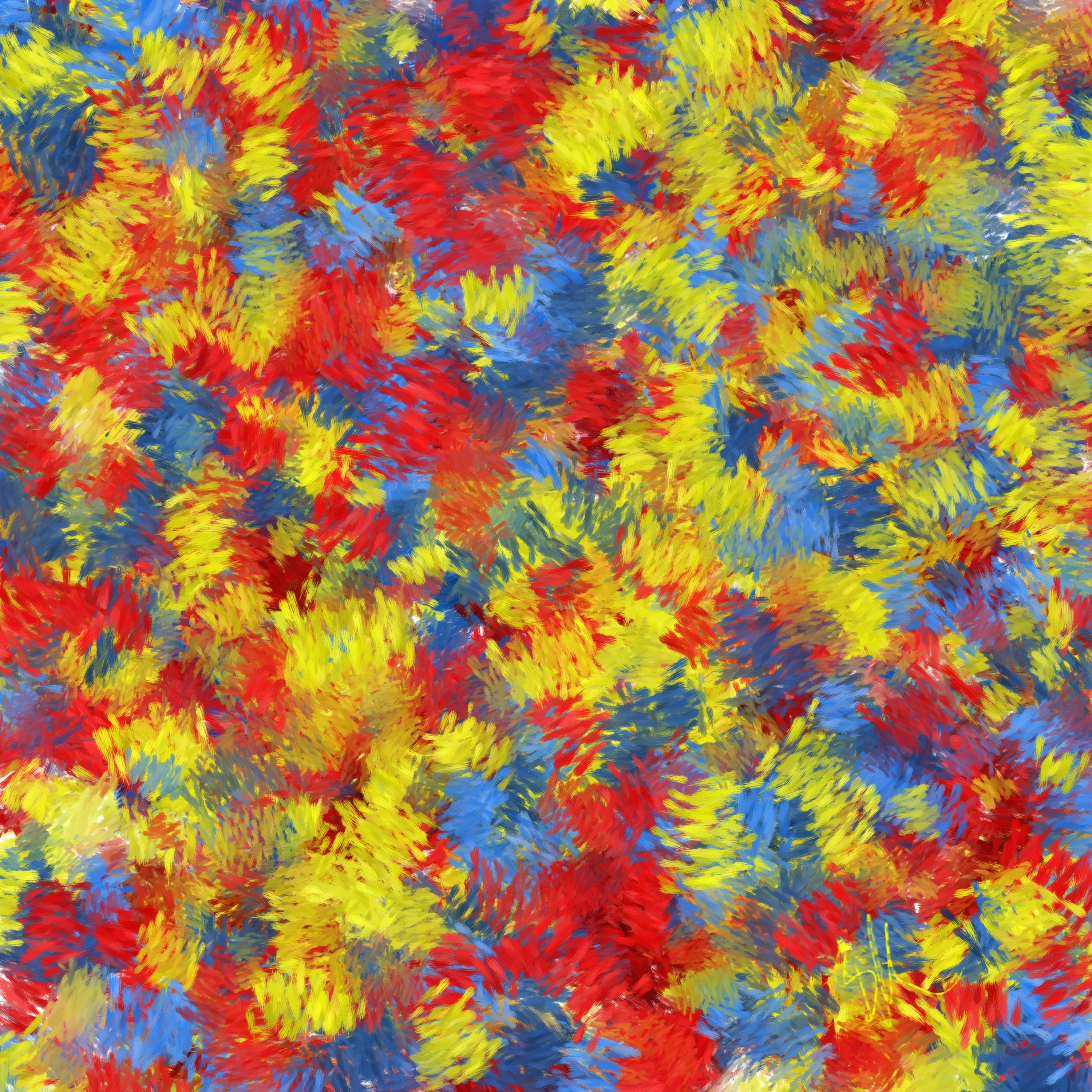 Red Yellow Blue Triadic Color Scheme The Art Diva Painting