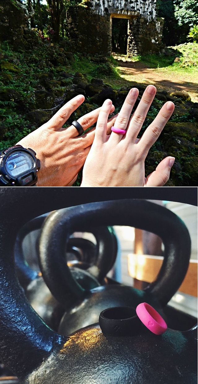 This Would Be A Perfect Wedding Gift Want People To Know You Re Married Even If Normally Take Off Your Ring Work Out Silicone Qalo Is