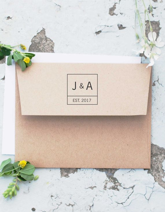 Wedding Stamp Save The Date