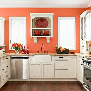 top kitchen trends | white cabinets and cleaning
