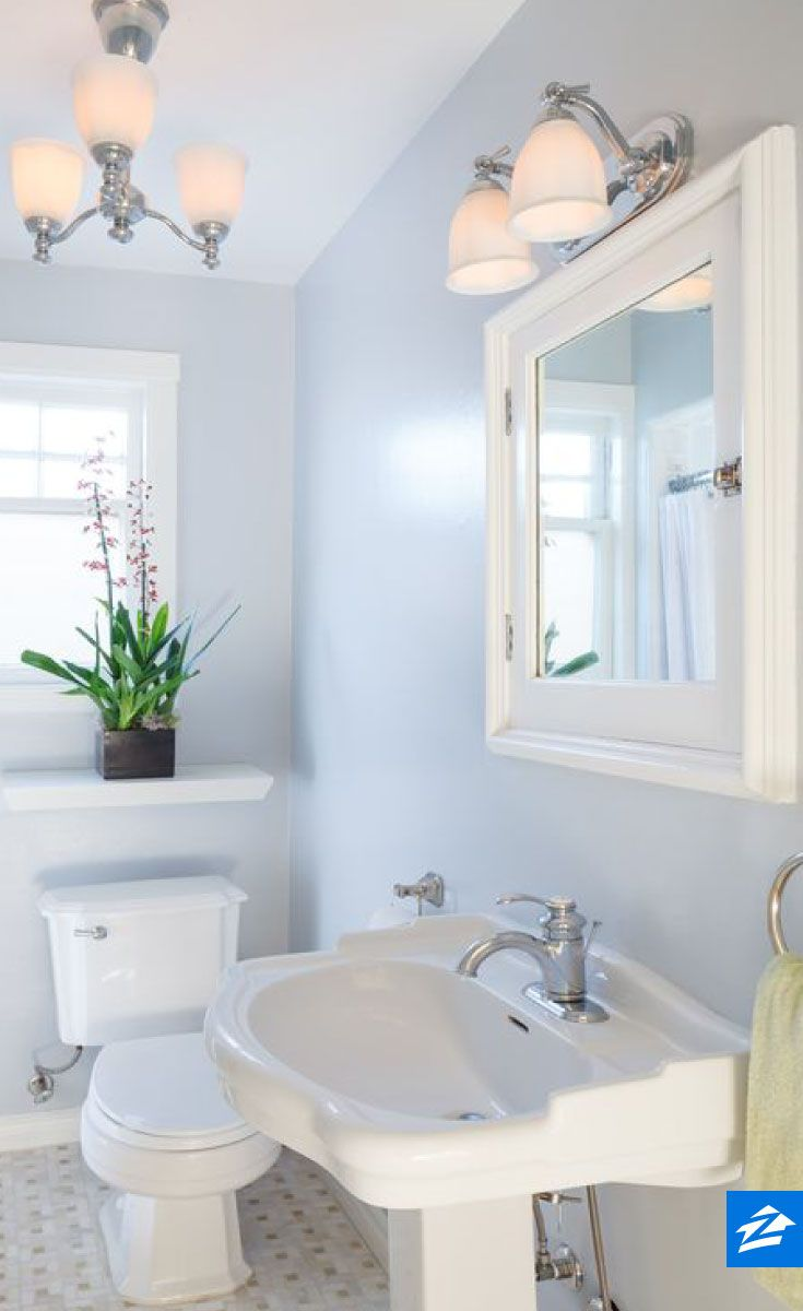 If you have a small bathroom make the space feel larger - Small full bathroom ideas ...