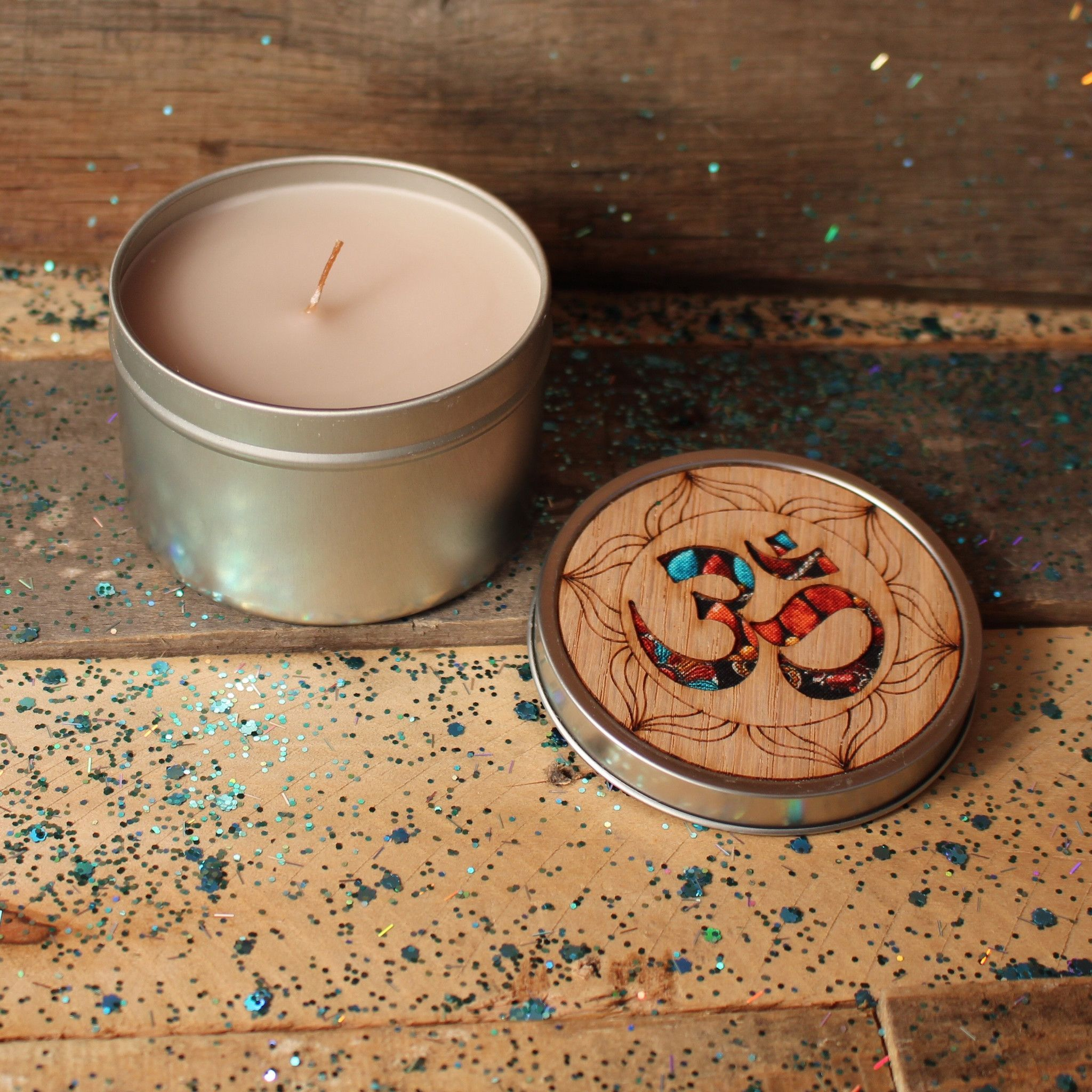 Om Tin Candle