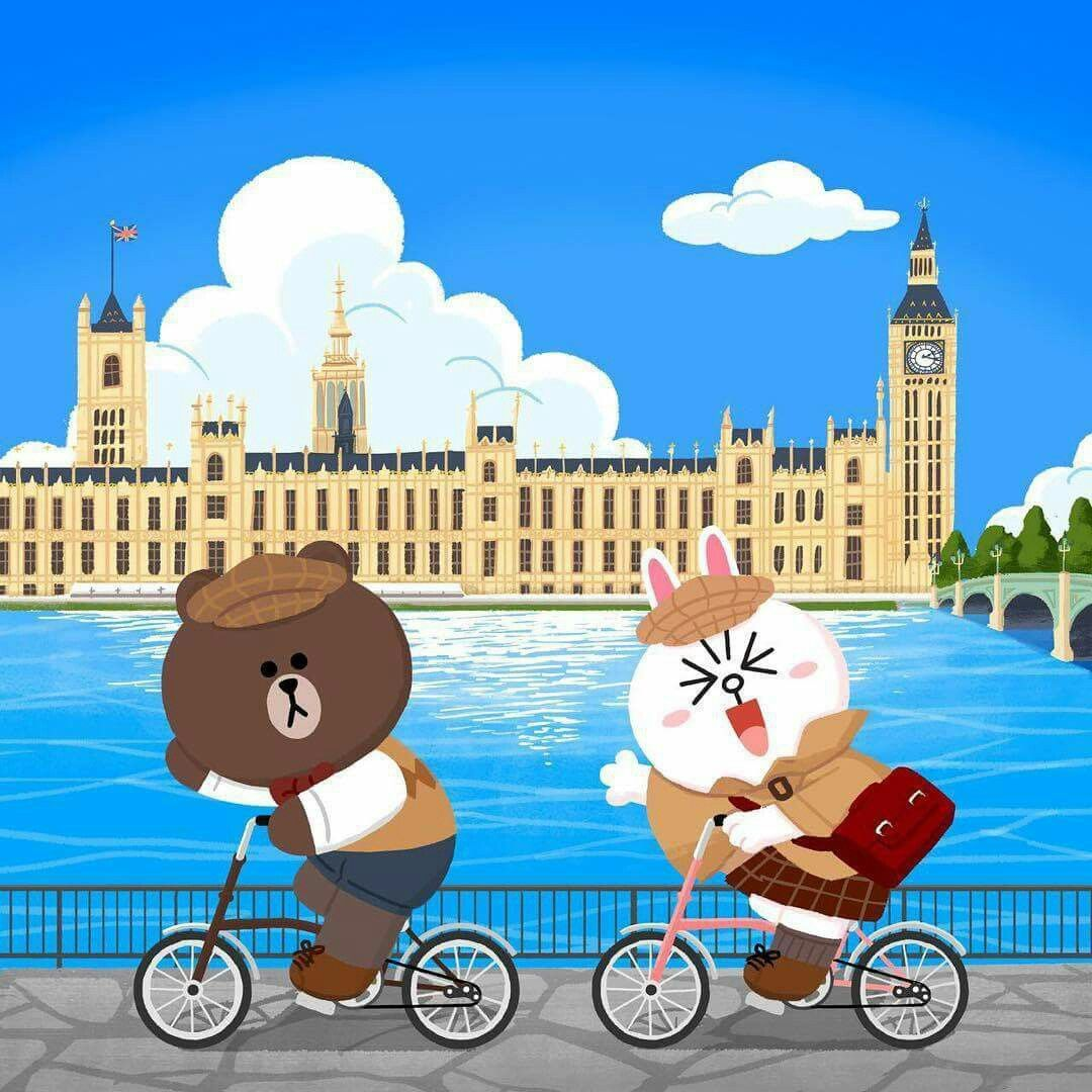 I've been riding the Thames with the Cony