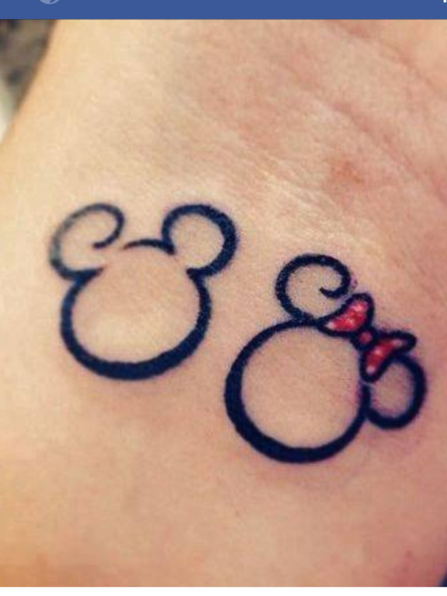 Mickey And Minnie Mouse Tattoos That I Mickey Mouse Tattoos