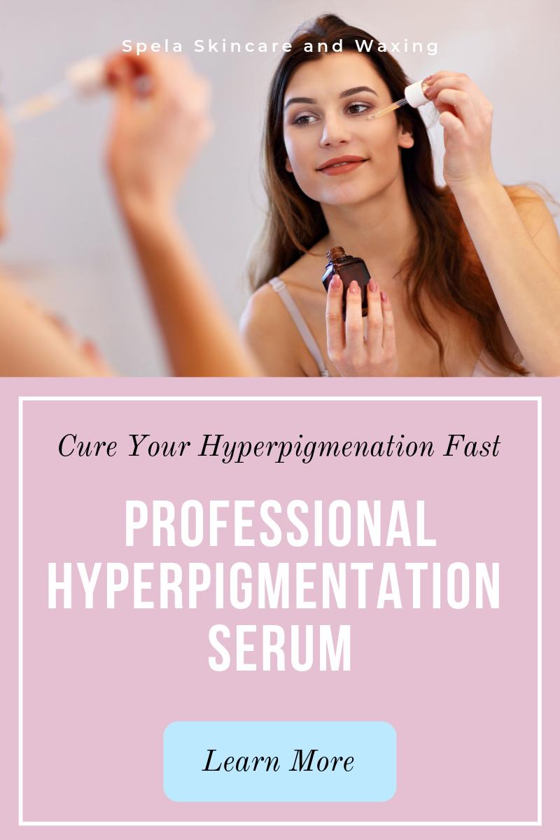 Use The Best Hyperpigmentation Serum To Get Rid Of Hyperpigmentation Fast Spalina Inc Hyperpigmentation Serum Hyperpigmentation Skin Lightening Serum