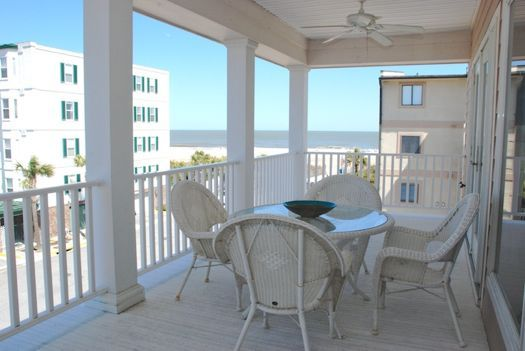 """""""Atlantic Sunrise"""" is a home complete with ocean view porches & a large deck off the living area. A convenient & comfortable place that sleeps 10."""