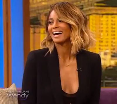 Ciara Hairstyle On Wendy Williams 2017