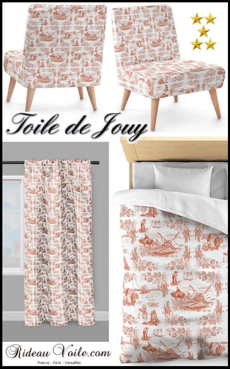 Toile De Jouy Tissu Ameublement Décoration Tapisserie ...