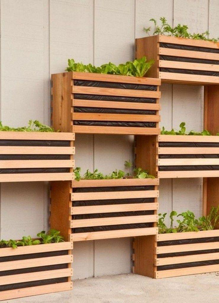 diy wood planter box ideas
