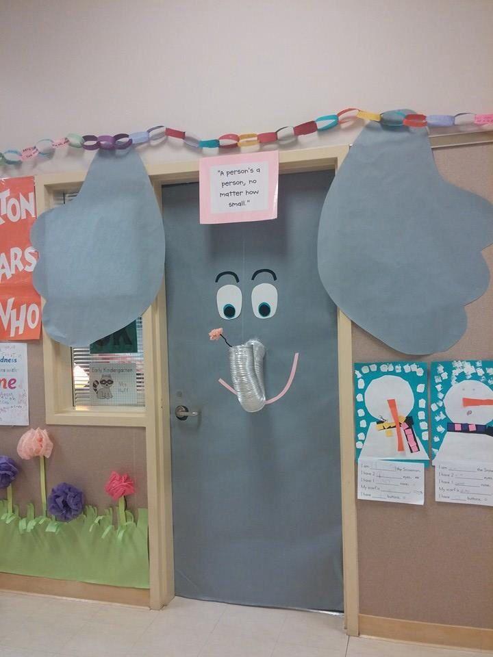 Elephant Classroom Decor ~ Image result for elephant door decorating contest school