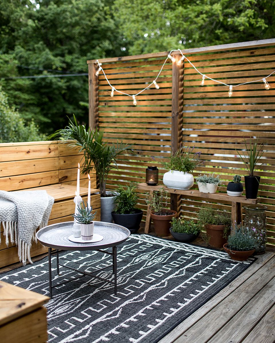 des id es d co pour votre balcon deco jardin outdoor decor pinterest idee deco balcon. Black Bedroom Furniture Sets. Home Design Ideas