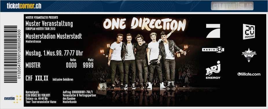 Konzert Ticket Vorlage 30 Neu Sie Konnen Einstellen In Ms Word In 2020 One Direction Tickets One Direction Concert One Direction Pictures