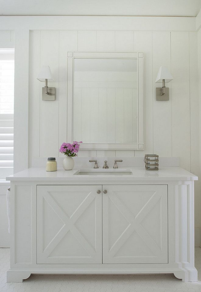 All White Bathroom custom cabinetry bathroom. all white bathroom. bathroom milwork