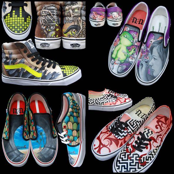 vans custom culture shoes