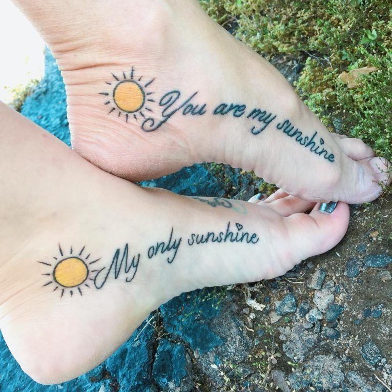 90+ Sweet Matching Mother Daughter Tattoo Designs