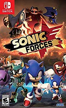 Amazon Com Sonic Forces Standard Edition Nintendo Switch Sega Of America Inc Video Games Nintendo Switch Sonic Nintendo