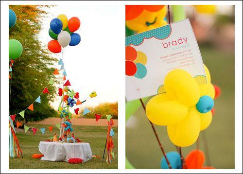 Balloon Theme Ideas Birthday Party Babybitesconz BIRTHDAY