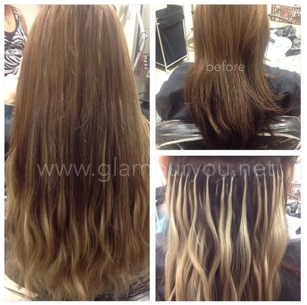 Microtube Hair Extensions Glamouryou Hairextensions