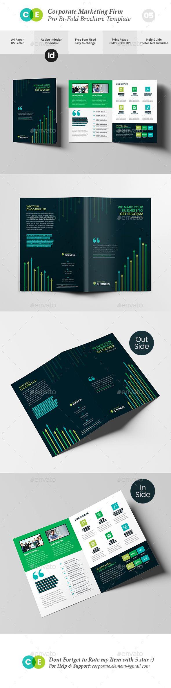 Marketing Firm Pro Bi-Fold Brochure V05