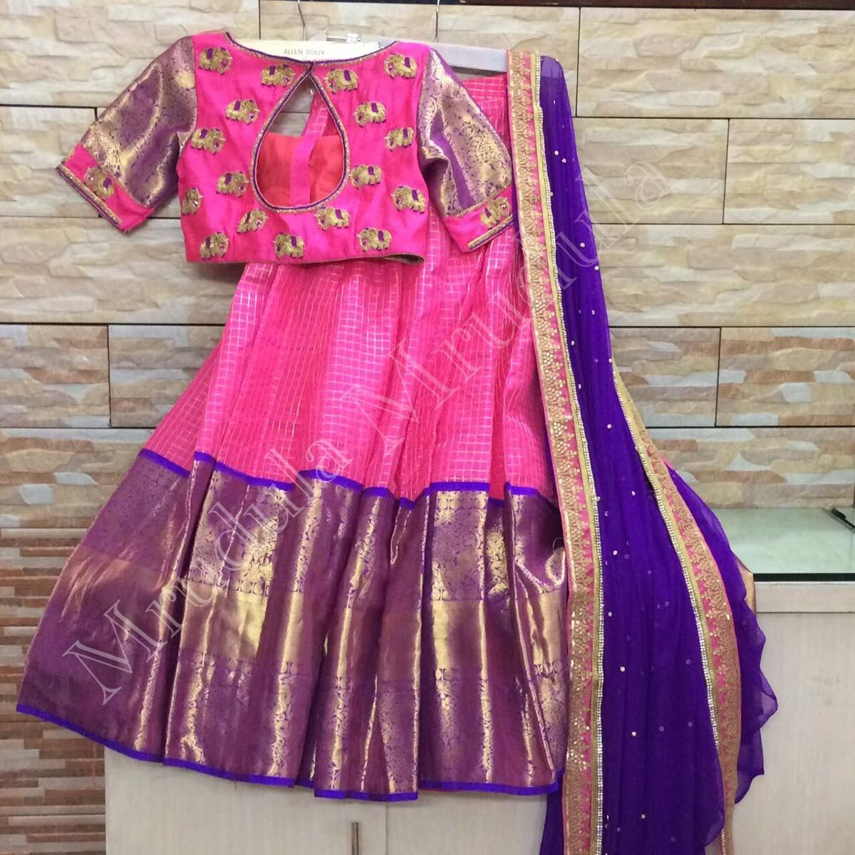 Half saree blouse design pin by gauri naga on dresses  pinterest  blouse designs half