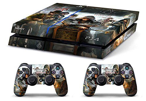 Skin PS4 HD ASSASSIN'S CREED SYNDICATE limited edition playstation 4 COVER DECAL
