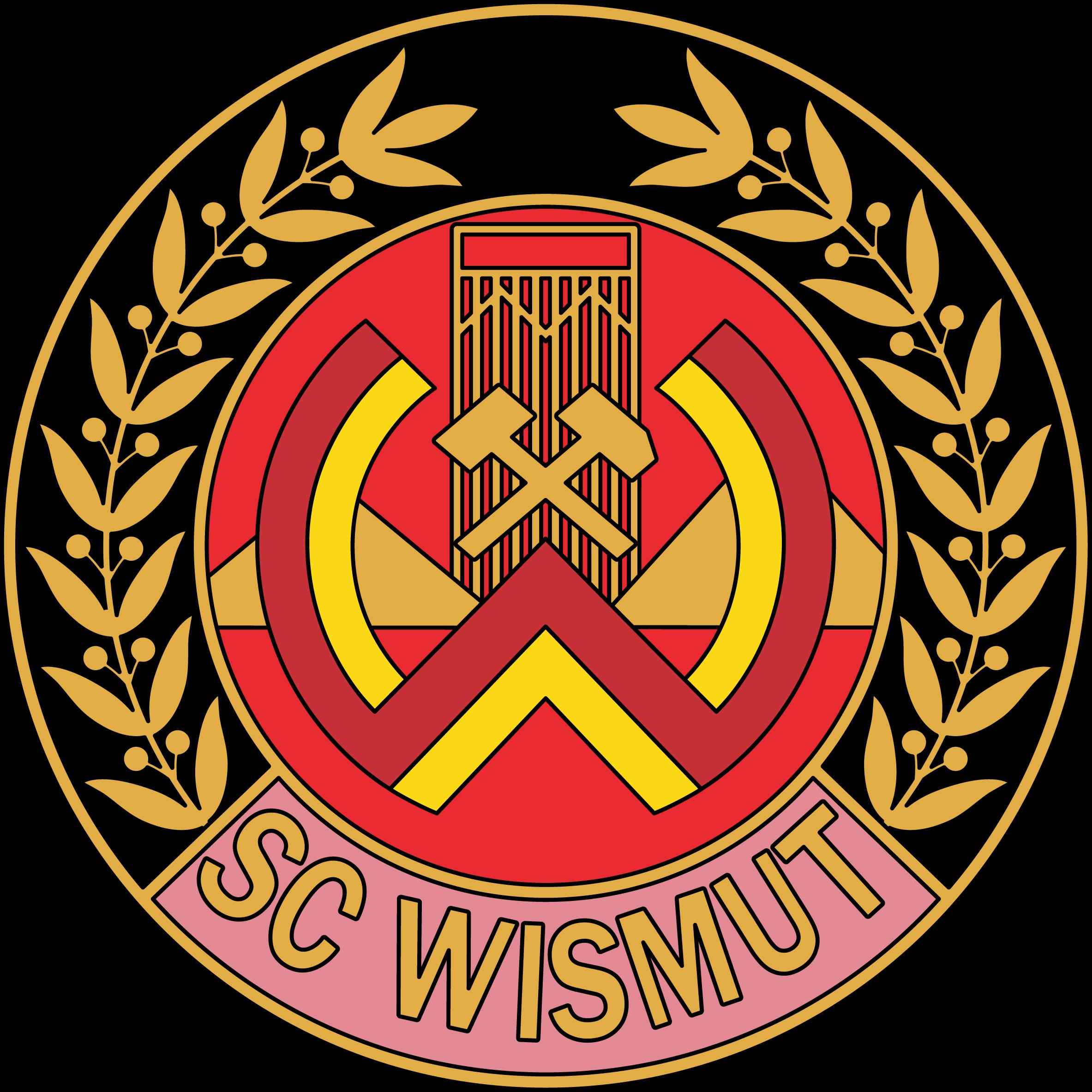 Wismut Karl Marx Stadt Football Logo Futbol Soccer Soccer Club