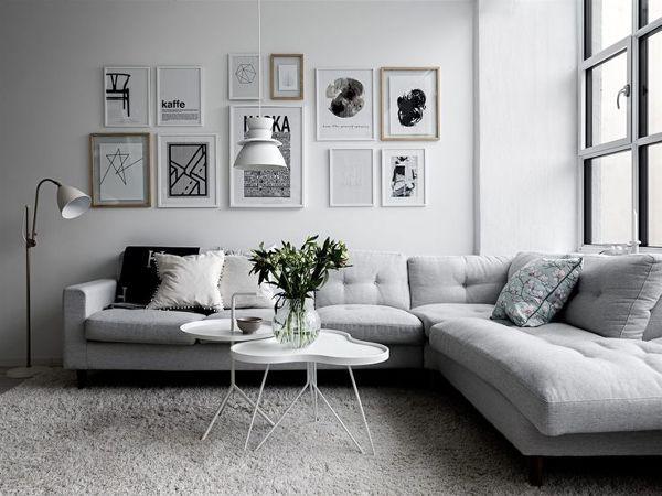 #livingroom #salon #greys #grises #sofa #confy #confortable #comodo