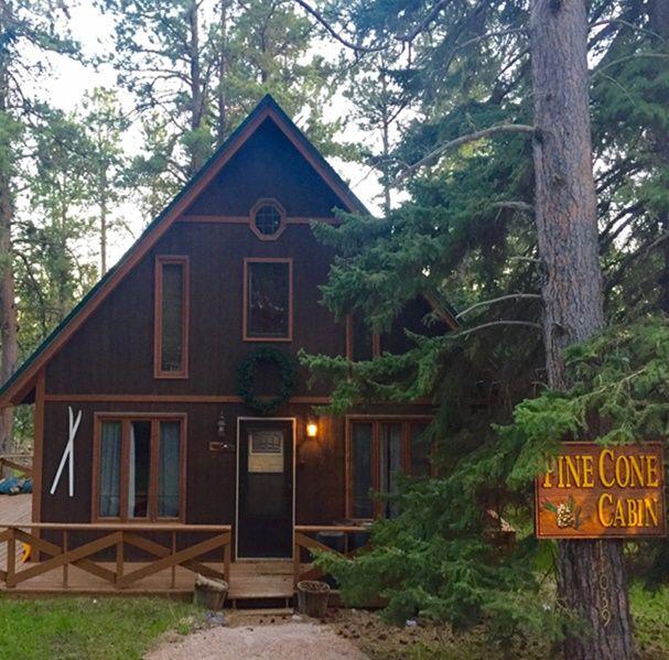 Pin van ~~Deedee's Pin Depot~~ op Pinecone Cabin on Forest ...