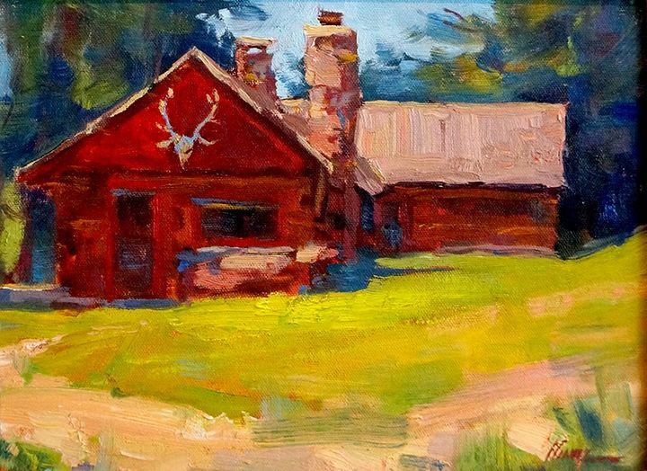 Lorenzo Chavez, Colorado Ranch, 9 x 12, Oil