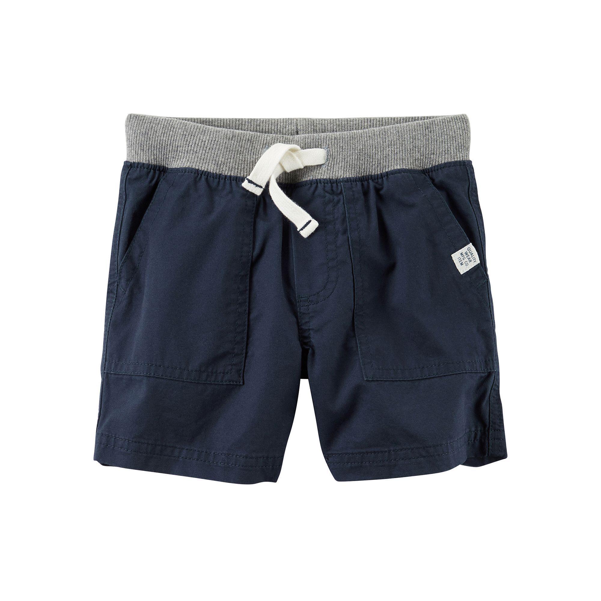 Toddler Boy Carter's Khaki Shorts, Blue | Products | Pinterest ...