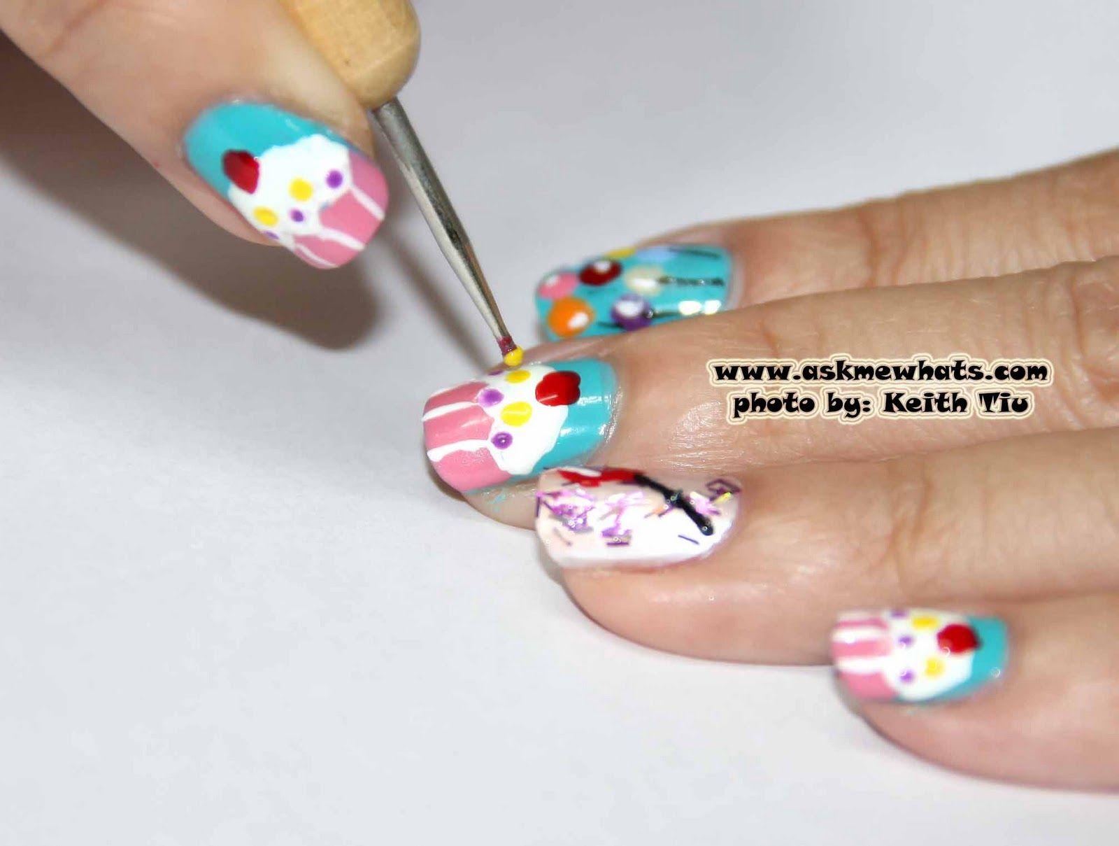 happy birthday nail art - Google Search   Birthday Nail Art ...