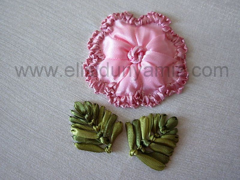 Great Tutorial For This Rose Pinterest Ribbon Rose