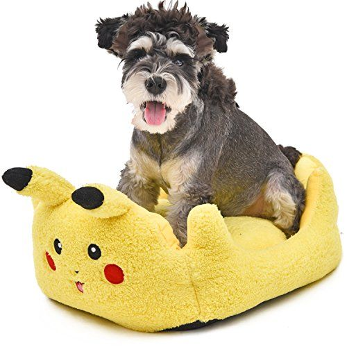 buy now $25.99 This bed is made with ultra-soft material on the surface, providing a comfortable and secure place to rest for your pet.Dimensions: 20.5″x16.9″ inchesUse it as a standalone bed in your pet's favorite spotCute Pikachu design, with a removable cushion inside.Pikachu costume is also available on our storeIf you don't receive the Pikachu …