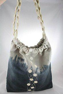 Veľké tašky - Tereza ombre čierna - 5670497_