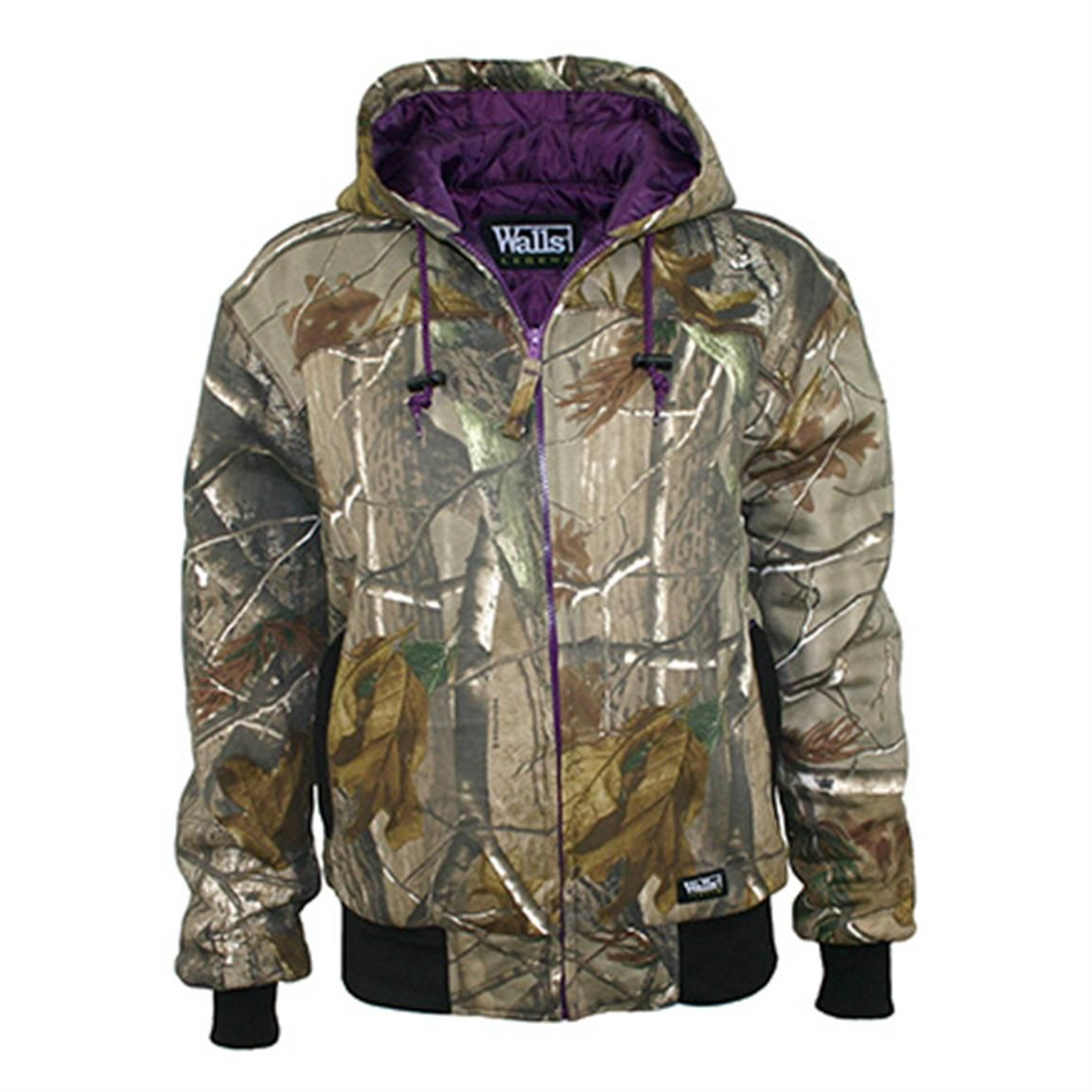 women s walls legend insulated quilted fleece hooded on walls hunting clothing insulated id=49869