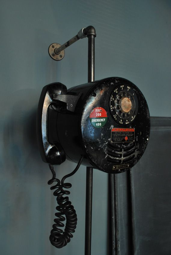 early 1950's Explosion Proof Telephone – remember those days were the Era of 2 SuperPower tensions: US vs USSR
