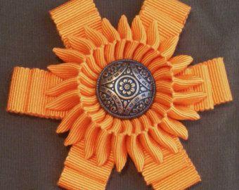 Ribbon Cocarde Cockade Pirate Hat Decoration