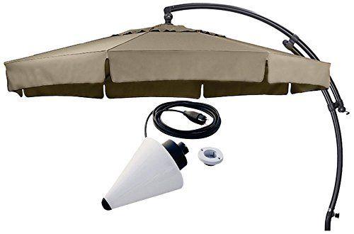Sun Garden Ampelschirm Easy Plus Durchmesser 350 cm, Bezug 100 ...