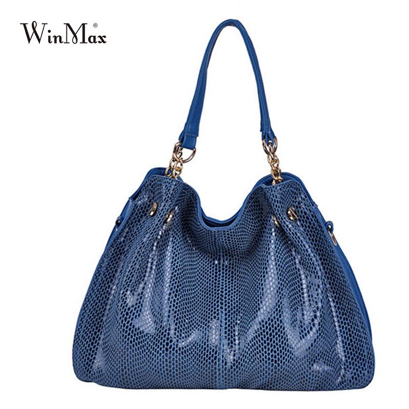cf105bd6d8 New Handbag 2015 New Korean Commuter Bag Snakeskin Pattern Shoulder  Diagonal Package HandBags For Women CrossBody Bag