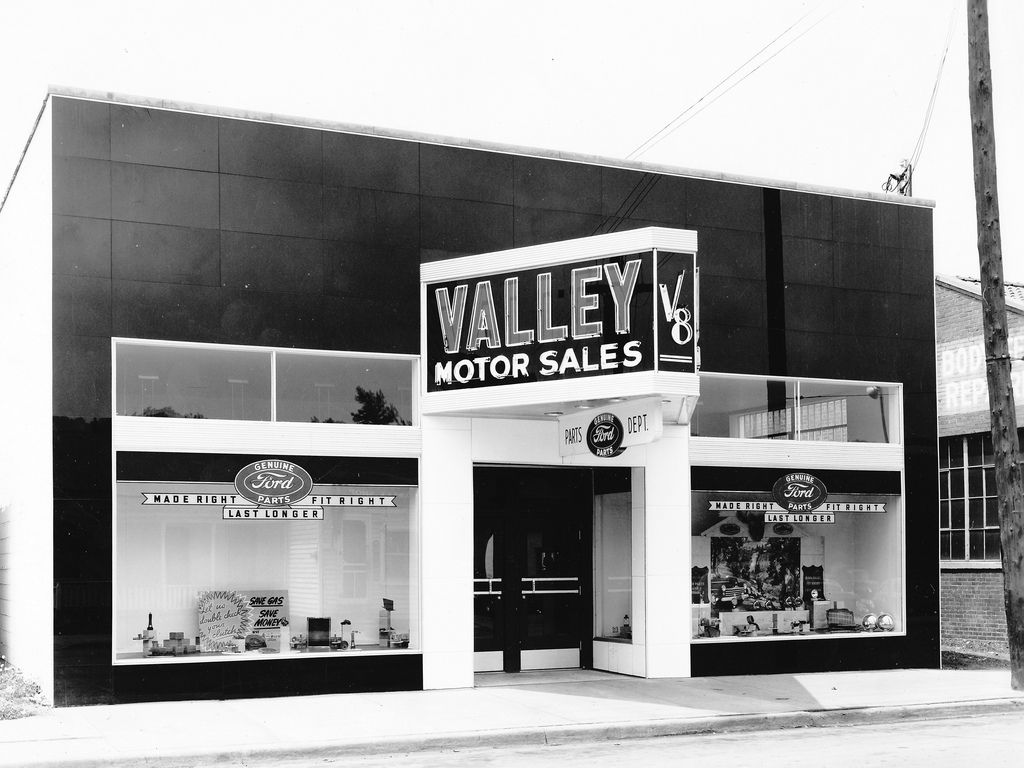 1954 Valley Motors Sales Ford Dealership, Charleston, West