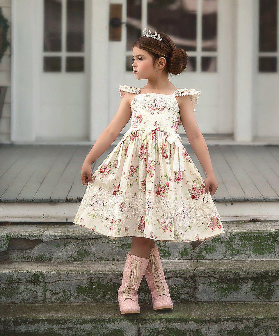 f7e6b5339 Take a look at this Ivory Mina Dress - Infant