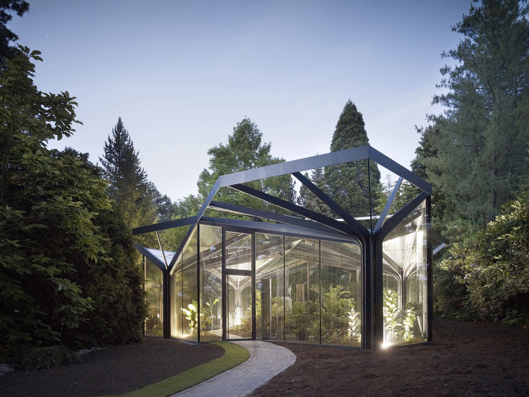 greenhouse botanical garden grueningen ida
