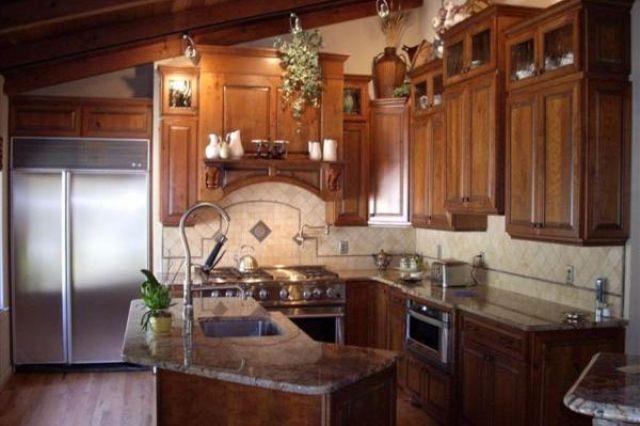 Typhoon Bordeaux Granite Countertops | Kitchen, Typhoon ... on Typhoon Bordeaux Granite Backsplash Ideas  id=55234